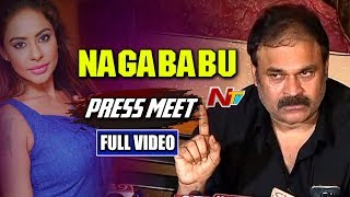 Actor Nagababu Speaks to Media About MAA Association Rules | Nagababu Comments on Srireddy