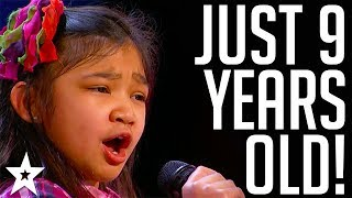 9 Y.O Shocks The Nation on America's Got Talent 2017 | Got Talent Global