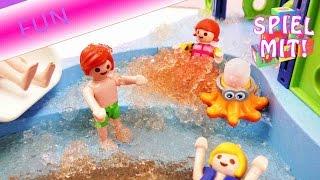 Playmobil Story Deutsch  Playmobil Kita Ausflug In Den Schleim Und Aquapark