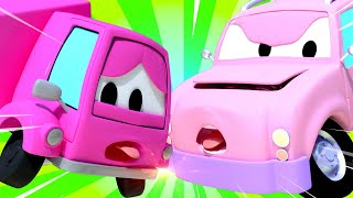 Tom the Tow Truck - Suzy the Little Pink Car 2 - Car City ! Cars and Trucks Cartoon for kids