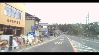 2011年4月撮影・宮城県松島町松島駐車場界隈