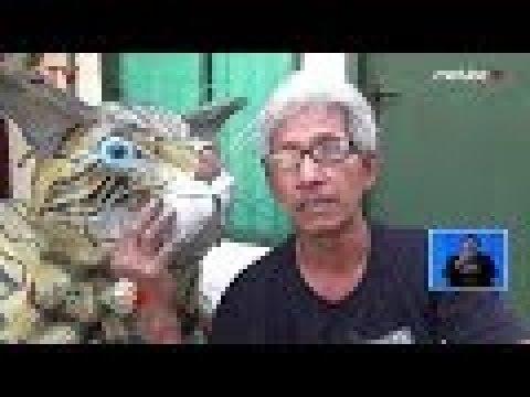 KREATIF! Pria di Malang Berhasil Ubah Ban Bekas Jadi Replika Hewan - BIS 15/09