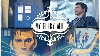 My Geeky Artwork || Doctor Who, Sherlock, Merlin.....