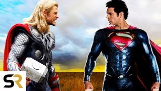 Superman VS Thor Clash Of The Gods  New Epic Fan Trailer Marvel VS DC