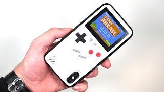 Meet The Gameboy IPhone Case That Plays Super Mario