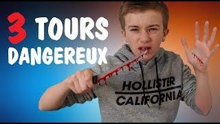 3 TOURS DE MAGIE DANGEREUX ! (Magie Expliquée)   REMIND