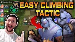 Warrior/Beast Strategy - Best Strategy to Climb Ranks Easily! | Auto Chess Mobile