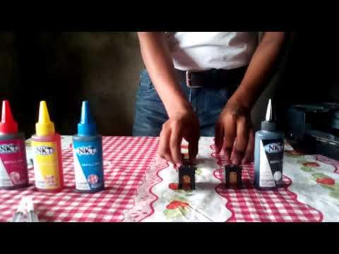 Como Rellenar Cartuchos  para Canon ip2700