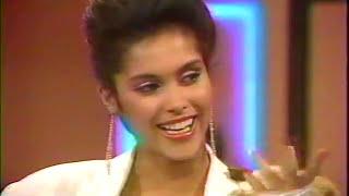 Vanity aka Denise Matthews (Vanity 6) Hot Properties : LIVE TV Show 1985'