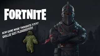 FORTNITE NEW GAME MODE IDEA