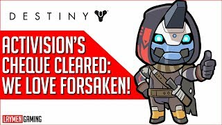 Destiny 2: Forsaken Is Good, But You Have To Mortgage Your House To Afford It
