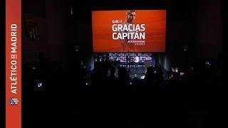 AUNQUE SOMOS DE MUCHOS EQUIPOS HOY PONEMOS UN VIDEO PARA AGRADECER AL CAPITAN  DEL ATLETICO!