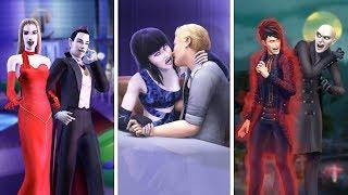 Вампиры в The Sims   Сравнение 3 частей