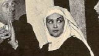 "Virginia Zeani as Blanche in ""The Carmelites""  La Scala - 2"