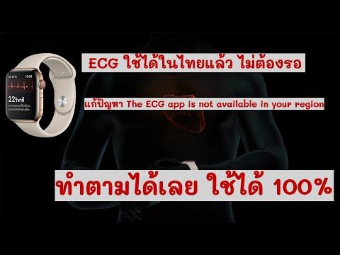 เปิดใช้งาน ECG ใน Apple Watch 4-5-6 ไม่ต้องใช้คอม (แก้ปัญหาขึ้นไม่รองรับภูมิภาค)