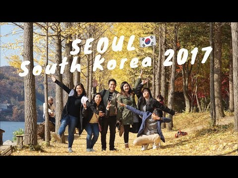 Seoul, South Korea: Autumn 2017 (Watch in HD)