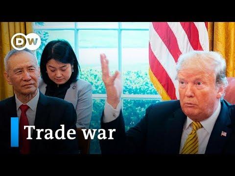 US China trade: Do Trump's tariffs threaten the global economy? | DW News