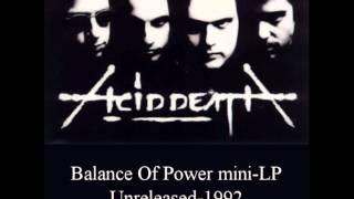 Acid Death - Civil War (Rare)