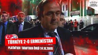 MİCHEL PLATİNİDEN BURSASPOR TARAFTARINA ÖVGÜ | Türkiye - Ermenistan (14.10.2009)