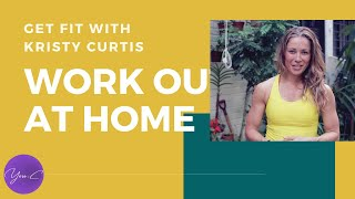 WORKOUT IN FRESH OUTDOOR | GET FIT with KRISTY #9 ✨ GET FIT #42