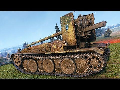Grille 15 - GERMAN SNIPER - World of Tanks Gameplay