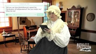 Tweets of The Rich & Famous: Martha Washington #7