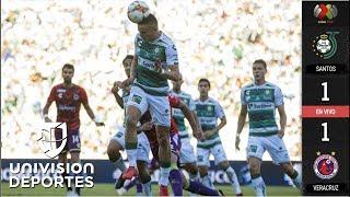Santos 1-1  Veracruz - GOLES Y RESUMEN - Jornada 10 Apertura 2018 Liga MX | Kholo.pk