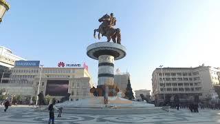 Zv/kryeministri i Maqedonise flet per ABC News nga Beogradi | ABC News Albania