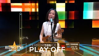 """Angeline Victoria """"Selow""""   Play Off 1   Rising Star Indonesia 2019"""