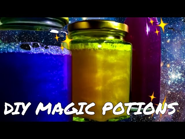 Diy-edible-glitter-galaxy-potions