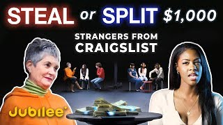 Will Strangers From Craigslist Agree to Split $1000?