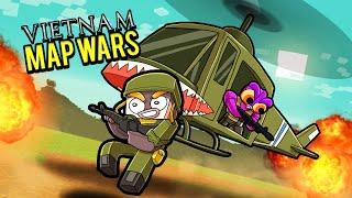 Vietnam War 1960! (Minecraft Map Wars)