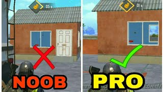 5 THINGS NOOBS DO IN PUBG MOBILE | PUBG MOBILE 5 PRO TIPS