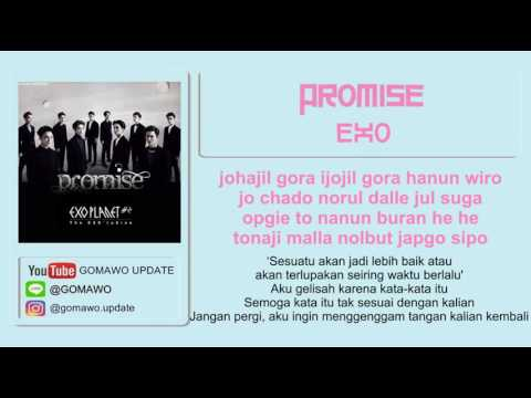 LIRIK EXO - PROMISE By GOMAWO [LIRIK KOREA, INDONESIA & SONG PHOTO COVER] Mp3