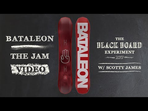2018 Bataleon The Jam Snowboard Review – Blackboard Experiment with Scotty James