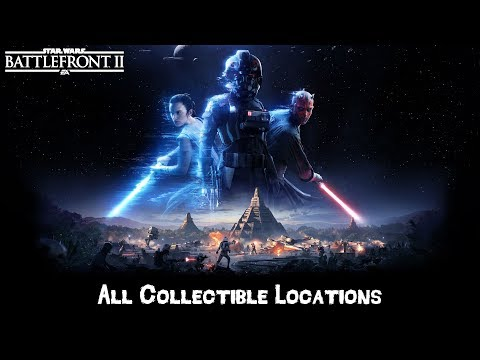 Star Wars Battlefront 2 - All Collectable Locations (2017)