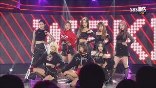 (Old ver.) Weki Meki, Crush [THE SHOW 181016]