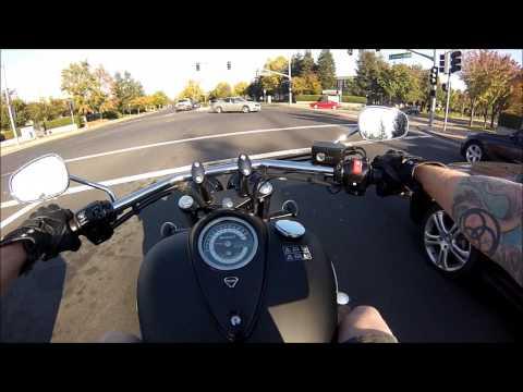2014 Triumph Thunderbird Storm Black