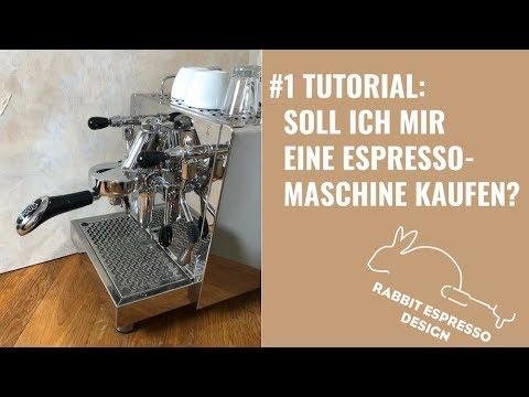 1.Tutorial: Siebträgermaschine, Espressomaschine, Kaffeemaschine bedienen, Soll ich mir eine kaufen?