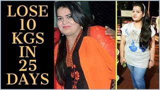 How to Lose Weight Fast 10 Kgs | Full Day Diet Plan to Lose Weight Fast | Fat to Fab