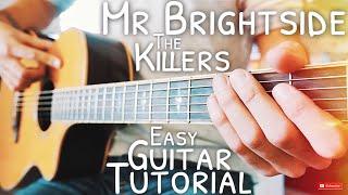 Mr Brightside The Killers Guitar Lesson For Beginners // Mr Brightside Guitar // Tutorial #564