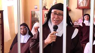 Irmãs carmelitas e maestro fazem último ensaio para missa especial com padre Alessandro Campos