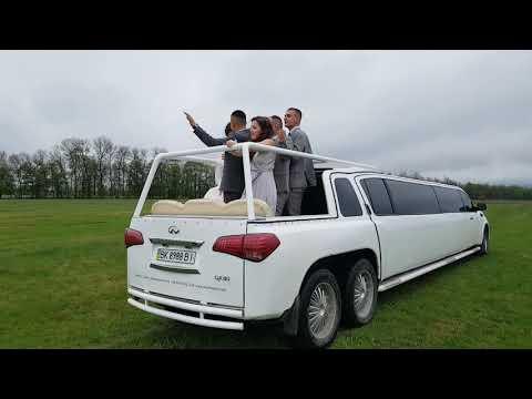 Лимузин Праздничный кортеж Трансфер, відео 1