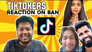 Tiktokers Reaction on Tiktok Ban in India | Mouli Talks