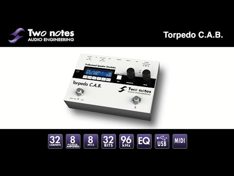 Two Notes Torpedo C.A.B. (electric bass, electric guitar)