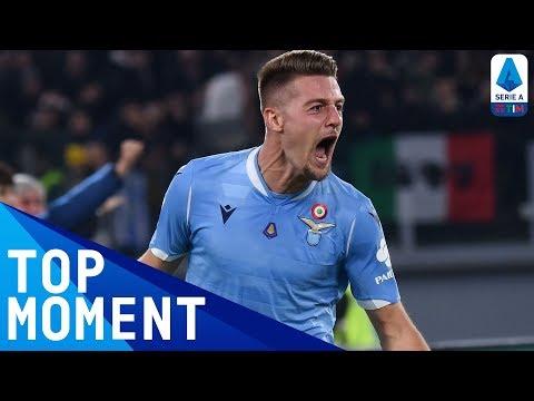Milinković-Savić Scores A Superb Strike To Edge In Front! | Lazio 3-1 Juventus | Serie A TIM