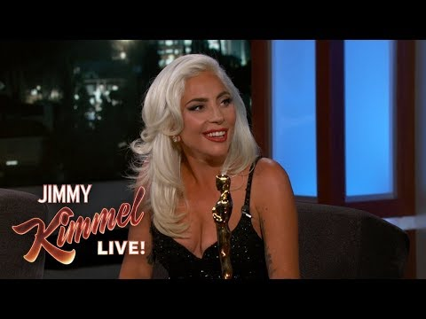 """Lady Gaga on Oscar Win & Being """"In Love"""" with Bradley Cooper"""