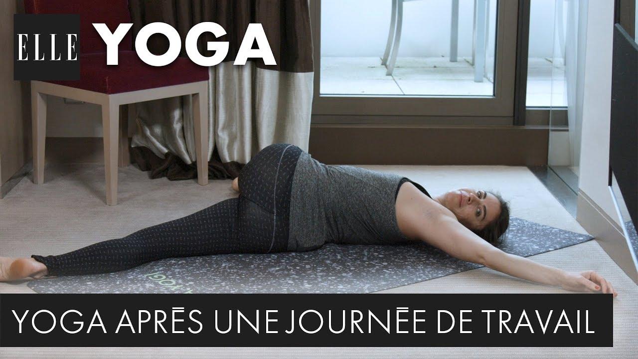 20 minutes de yoga après une longue journée au travail