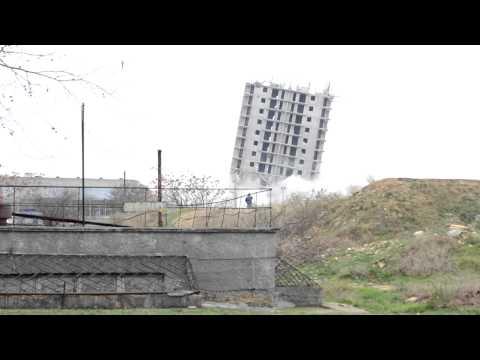 Sevastopol. Unsuccessful controlled explosion