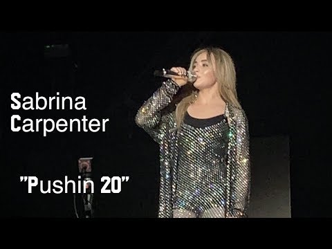 "Sabrina Carpenter - ""PUSHIN 20"" (Singular Act 2 New Song)"